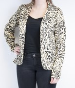 Blazer panter knoop