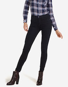 High Rise skinny blue black