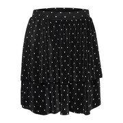 onlAisha tiered aop skirt