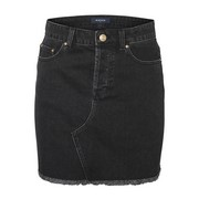 pcCaya mw raw edge skirt bl614