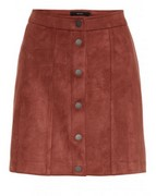 vmDonna dea nw faux suede short skirt