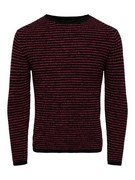 onsSato 7 multi clr knit noos stripes