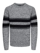 onsCesco 5 struc stripe knit