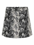 onlDarline jaquard snake skirt