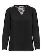 onlEva l/s v neck top