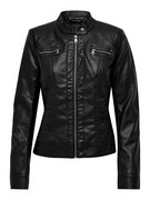 onlBandit faux leather biker z20
