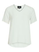 objZoe s/s v-neck top noos