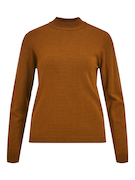 objThess l/s knit pullover w20