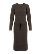 pcSuna ls midi knit dress