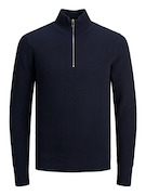 jprBlajasper knit half zip no pocket