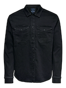 onsBilly life black overshirt