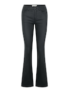 pcRoxy flared mw coated pant