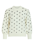objLaurie l/s knit pullover