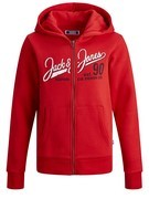 jjELogo sweat zip hood noos