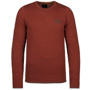 R-neck cotton knit - Ketchup