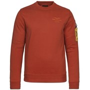 Long sleeve r-neck brushed sweat - Ketchup