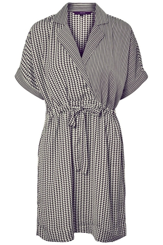 vmAriel 2/4 short wrap dress z20