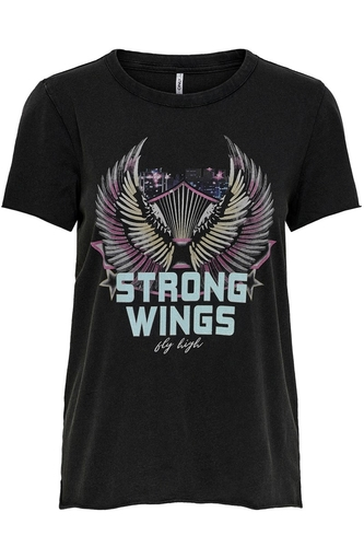 onlLucy life fit s/s wings top