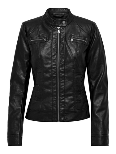 onlBandit faux leather biker noos z21